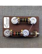 Vorverdrahtetes Kit für Bass und Gitarre