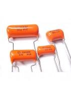 Condensadores Sprague Orange Drop