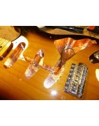 Copper or aluminum tape to shield your Guitar or Bass